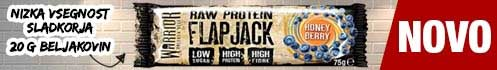 Warrior Raw Protein Flapjack 75 g